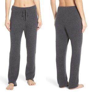 NWT Nordstrom Something Navy Silk & Cashmere Soft Luxurious Lounge Pants - Small